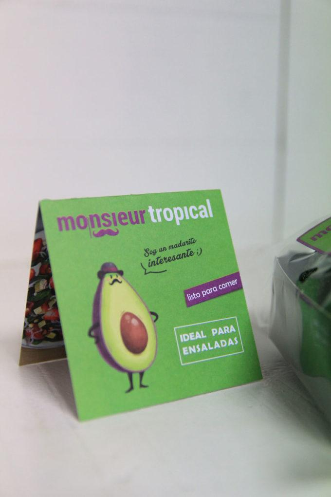 Monsieur tropical listo para comer, ideal para ensaladas