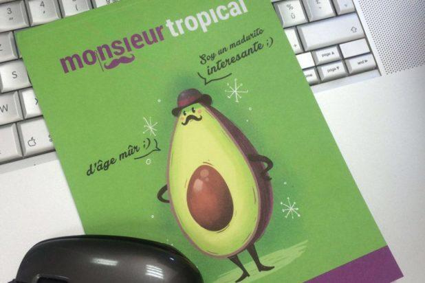 Flyer promocional monsieur tropical