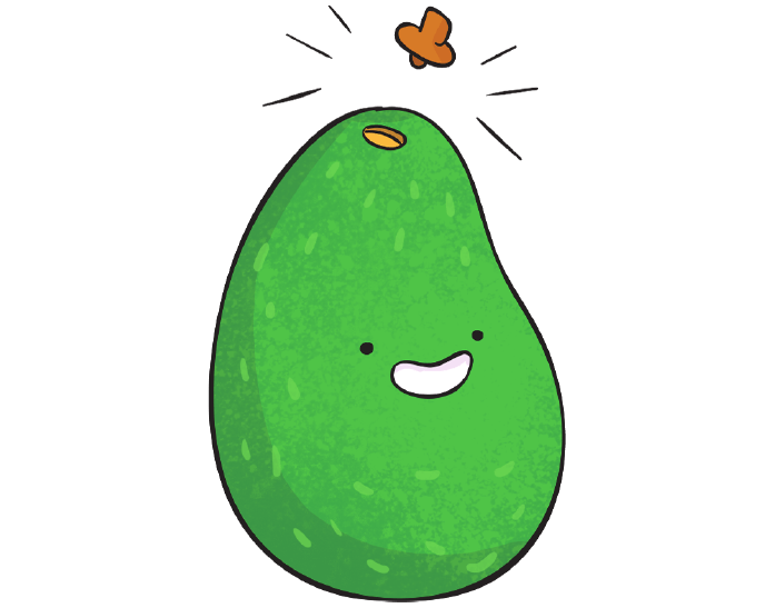 optimal ripeness – avocado